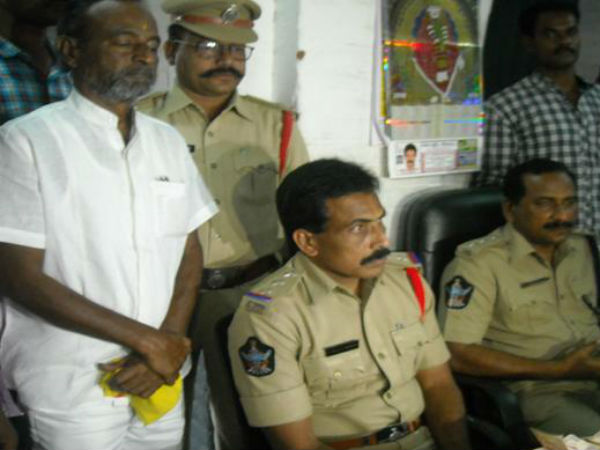 sudhakar maharaj arrested in nellore