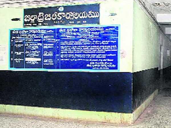 ప్రకాశం జిల్లా ట్రెజరీలో...నిలిచిపోయిన రూ.100 కోట్లు:ఉద్యోగుల ఇక్కట్లు