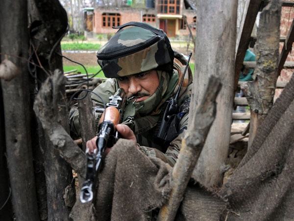 Encounter underway in Kulgam; three militants cornered by security forces