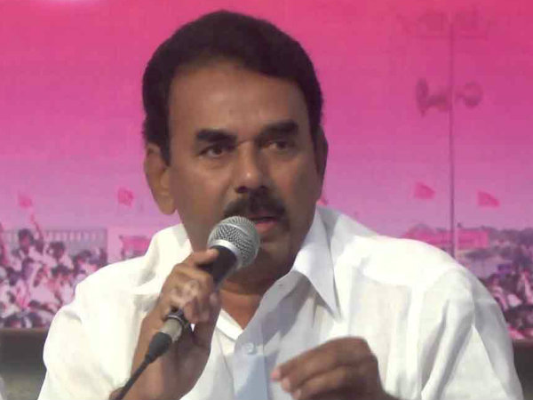 Jupally condemns allegation against his son