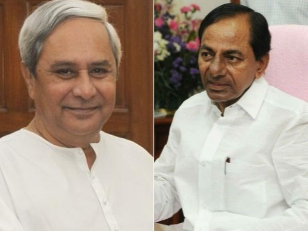 kcr to discuss with Naveen patnaik for Federal front soon