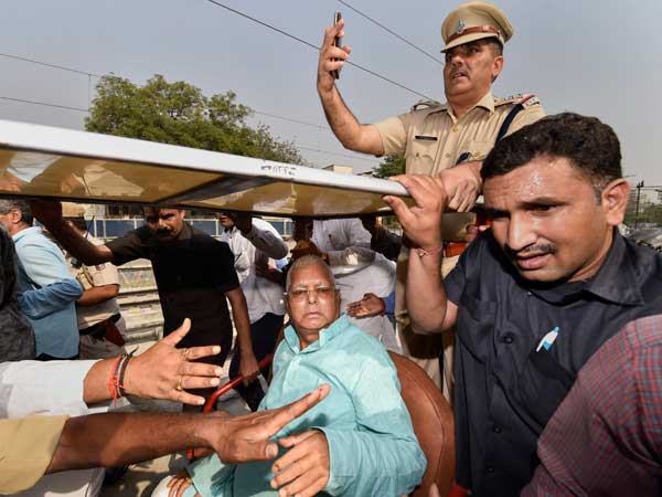 Conspiracy to worsen health: Lalu Yadav after being discharged from AIIMS