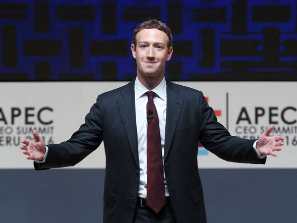 Facebook CEO Mark Zuckerberg Faces Congress