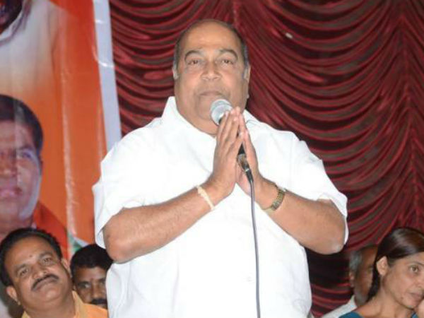 Former minister Nagam Janardhan Reddy joins in Congress party