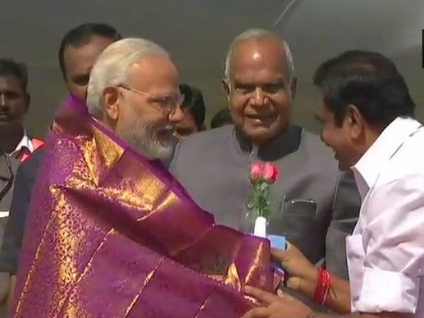 Cauvery Protests Peak as PM Modi Lands in Chennai for DefExpo