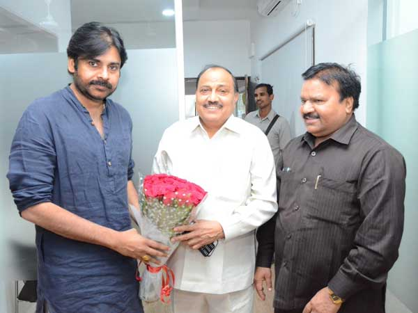 BSP leaders meet Pawan Kalyan