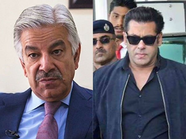 Salman Khan jailed because he's minority, says Pakistan Foreign Minister Khawaja Asif