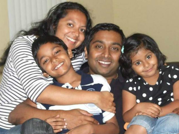 thotapilly family tragedy in us: 2 bodies found in an SUV in river, boy still missing