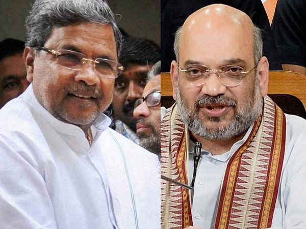Why is Siddaramaiah changing his constituency: Shah says it is due to BJP wave in Karnataka