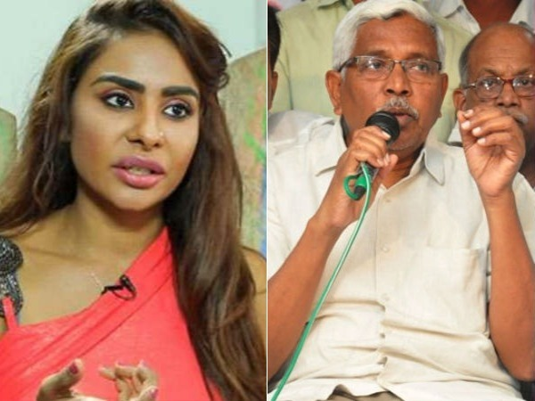TJAC chairman Kodandaram speech on tollywood casting couch, Sri Reddy meets