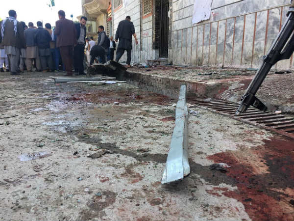 Suicide bomber strikes in Afghanistan capital, 31 killed