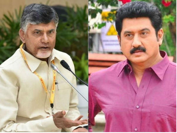 first you should tell to people about special status: suman demands chandrababu