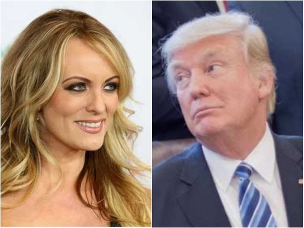Trump Says He Has No Idea About 130k Pay Stormy Daniels