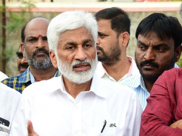 TDP MLAs wants to join YSRCP, says Vijayasai reddy