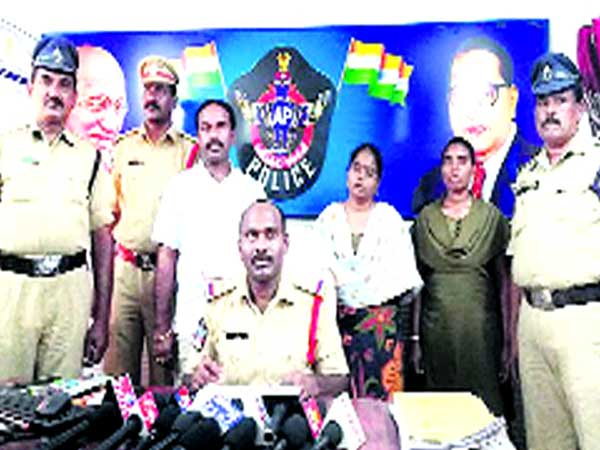 Allegations of illegal contact...Muder attempt on Husband: Two VROs arrested