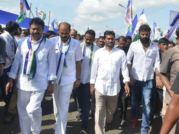 Ys Jagan Padayatra Enters Krishna District