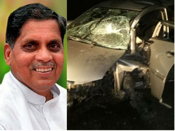 Congress MLA Siddu Nyama Gowda passed away in a road accident