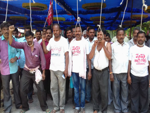 Agrigold victims padayatra to Secretariat Today