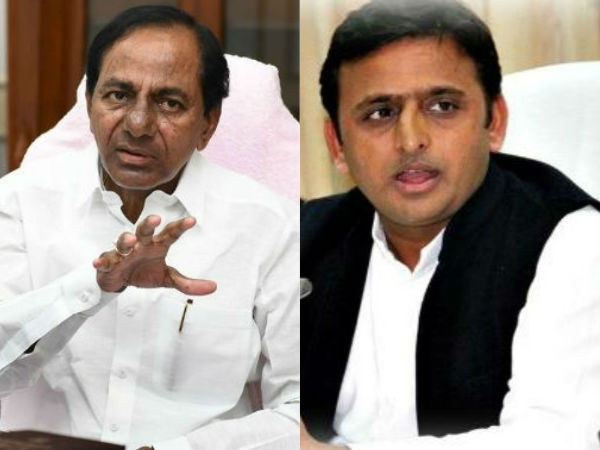 Akhilesh Yadav to meet K Chandrashekhar Rao in Hyderabad