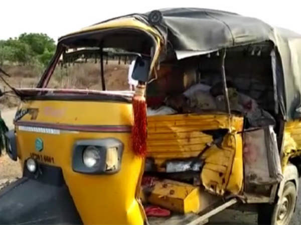 two died in a road accident in nandigama