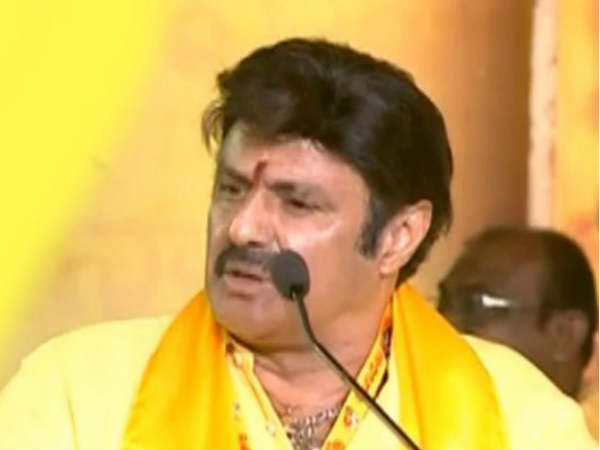 NTR started TDP for serving to poor people says Balakrishna