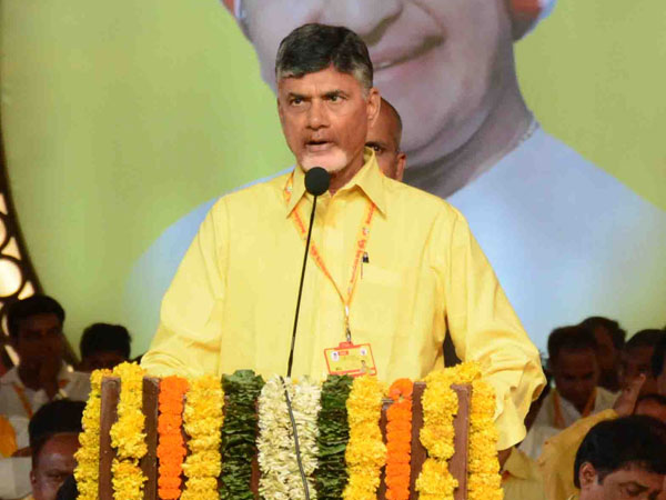 Chandrababu Naidu speech in Mahanadu: AP CM names CBI former JD name