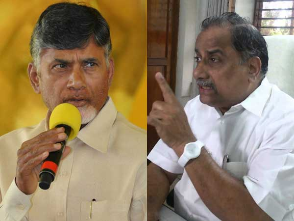 Mudragada another letter to Chandrababu, Seeks Probe Against Lokesh