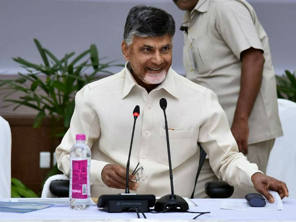 AP CM Chandrababu Naidu trolled for tweets on Karnataka