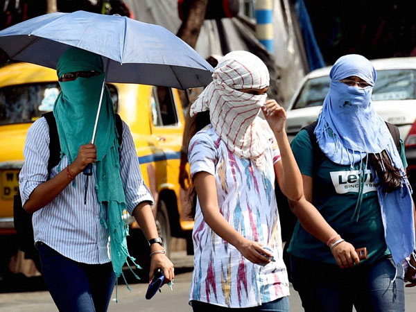 two degrees increase in temperature in hyderabad