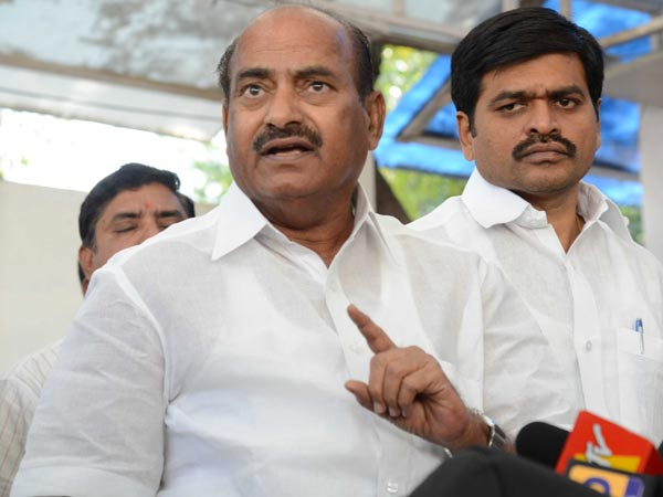 JC Diwakar Reddy angry at Municipal chairperson son