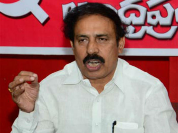 cpi ramakrishna suspects ysrcp and bjp have secret deal