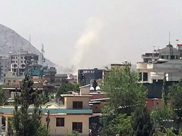 Multiple blasts in Kabul, casualty feared