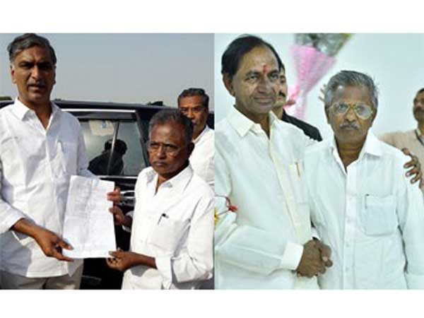 cm kcr big surprise to his childhood friend bommera venkatesham