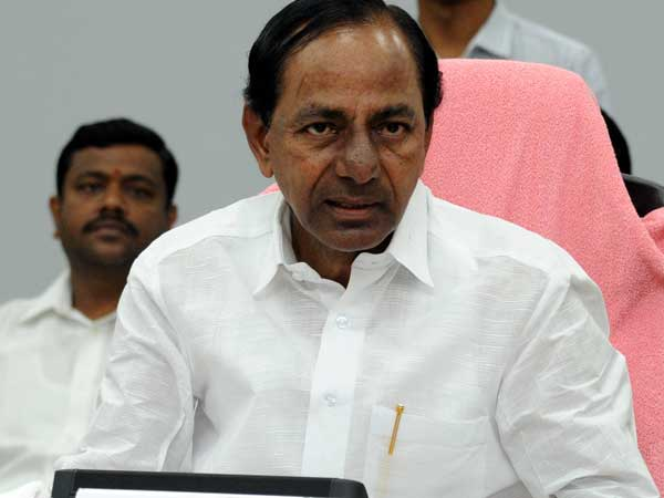 KCR meeting with police officials over Cash For Vote