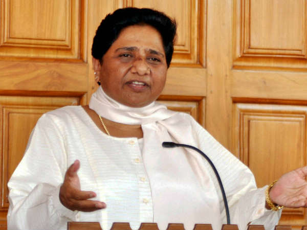 this is a big blow for bjp says mayawati