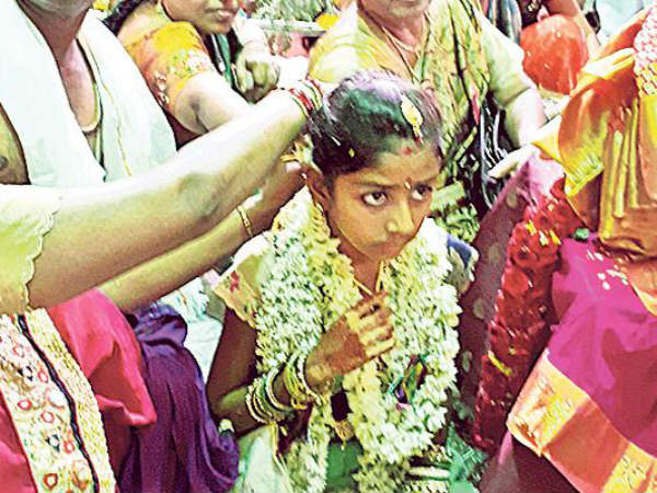 eight years girl married lord venkateswara swamy