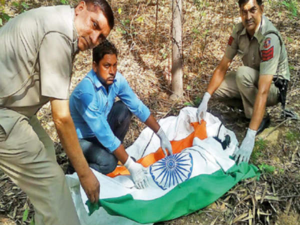 Delhi cops give tricolour burial to peacock, say its protocol