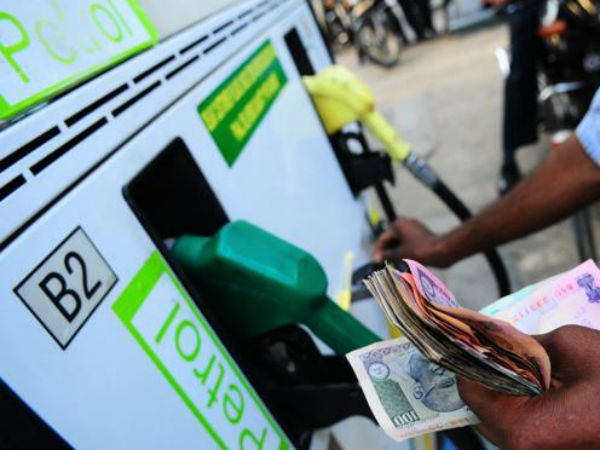 Petrol price cut by 7 paise, diesel by 5 paise per litre