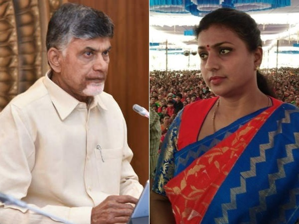 telangana govt should punish chandrababu over vote for note case seeks roja