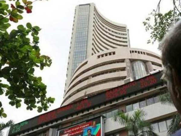 Financials, higher crude pull Sensex down 301 pts, Nifty below 10,600; Bajaj Finance up 4%