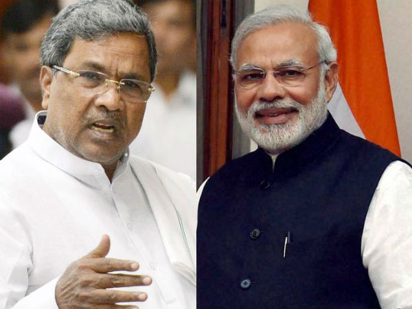 Will Modi, who lectures whole nation on corruption, advice Yeddyurappa to give up horse-trading, asks Siddaramaiah