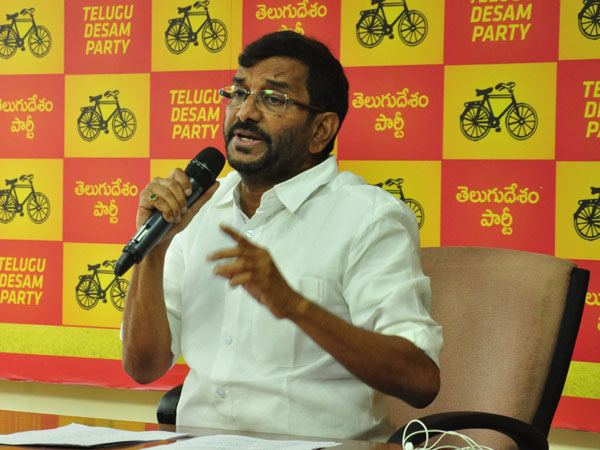 Not to Chandra Babu...Stars will appear to GVL: Minister Somireddy