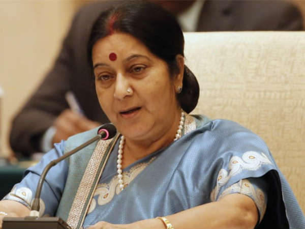Sushma Swaraj In Touch With Indian Diplomats In Canada After Explosion At Indian Restaurant In Toronto