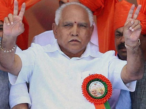 BJP workers will celebrate at 5pm, says BS Yeddyurappa