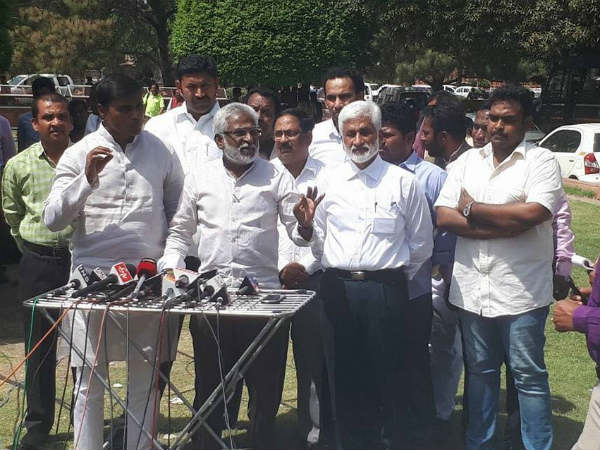 Ysrcp mps to meet Lok Sabha speaker Sumitra mahajan on may 29