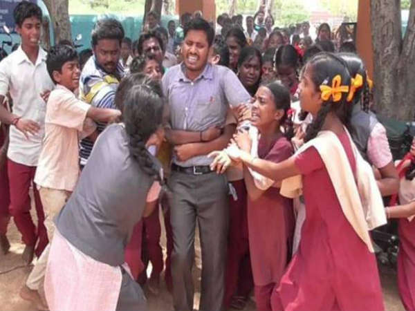 viral video effect: Bhagawan the teacher, posted back in the same school