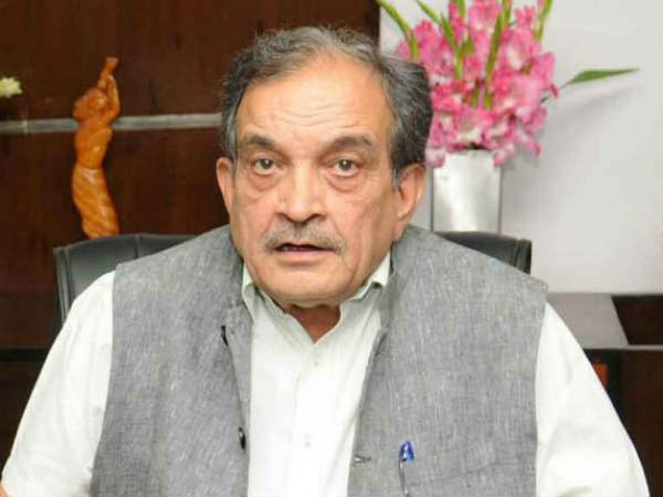 TDP MPs meet Union Minister of Steel Birender Singh