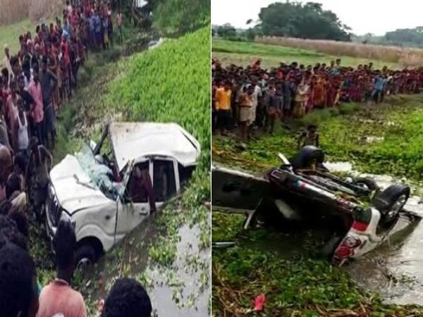 6 children die in Bihar's Araria after car falls into pond