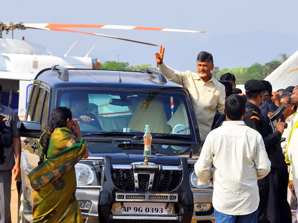 TDP leader expressed dissatisfaction in front of Chandrababu Naidu