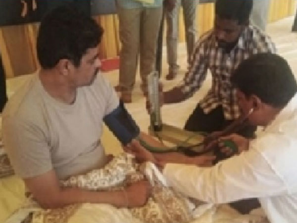 Cm Ramesh B Tech Ravi Hunger Strike Six Days Both Health